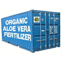 organic aloevera fertilizer container